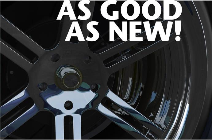 Alloy wheel refurbishment Milton Keynes