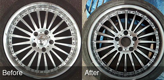 Alloy wheel repair milton keynes